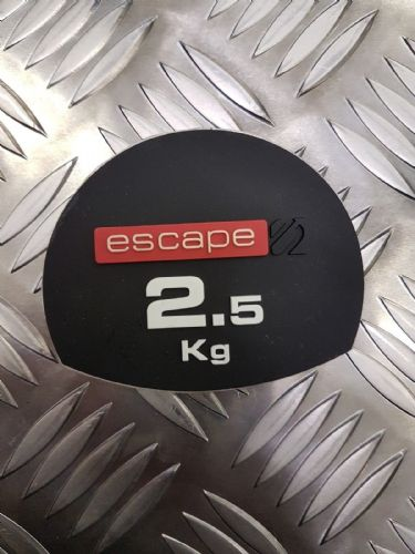 Escape Fitness Edge Dumbell Weight Stickers, Numbers 2.5kg to 25kg
